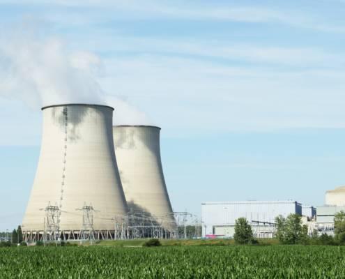 Nuclear plant - 2 reactors