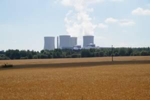 Temelin nuclear plant